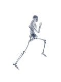 Skeleton Running Giclee Print by  PASIEKA