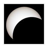 Partial Solar Eclipse Giclee Print by Laurent Laveder