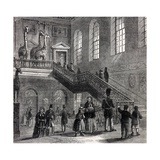 1830 Montagu House Natural History Museum Giclee Print by Stewart Stewart