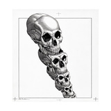 Human Evolution, Artwork Giclee Print by Bill Sanderson