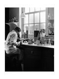 Microbiology Laboratory Giclee Print by National Physical Laboratory