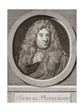 Samuel Pufendorf, German Jurist Giclee Print by Middle Temple Library
