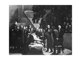 First Use of General Anaesthesia, 1846 Giclée-Druck von Science Photo Library