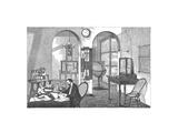 Meteorologist, Historical Artwork Giclee Print by Mehau Kulyk
