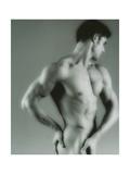Nude Man Giclee Print by  Cristina