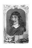 Rene Descartes, French Mathematician Giclee Print by Science Photo Library