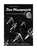 Von Braun's Mars Project, 1952 Giclee Print by Detlev Van Ravenswaay