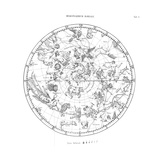 Northern Celestial Map Giclee Print by Science, Industry and Business Library
