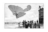 Otto Lilienthal's Glider, 19th Century Giclee Print by Science Photo Library