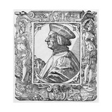 Pietro Pomponazzi, Italian Philosopher Giclee Print by Middle Temple Library
