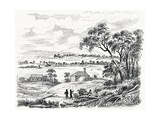 Sydney Cove, Australia, Circa 1790 Giclee Print by CCI Archives