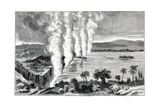 Victoria Falls, 19th Century Giclee Print by CCI Archives