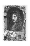 Christiaan Huygens, Dutch Physicist Giclee Print by Science Photo Library