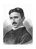 Nikola Tesla, Serb-US Physicist Giclee Print by Science Photo Library