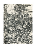 Four Horsemen of the Apocalypse Giclee Print by Sheila Terry