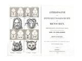 1874 Frontis Haeckel Anthropogenie Giclee Print by Stewart Stewart