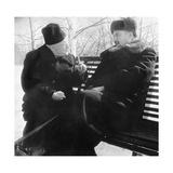 Tamm And Kurchatov, Soviet Physicists Giclee Print by Ria Novosti