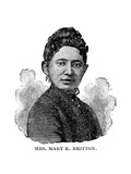 Mary Britton, US Medical Pioneer Giclee Print by Schomburg Center