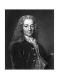 Voltaire, French Author Giclee Print by Middle Temple Library