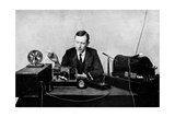Guglielmo Marconi, Radio Inventor Giclee Print by Science Photo Library