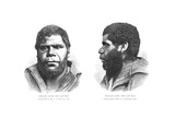 Last Tasmanian Man, 19th Century Giclee Print by King's College