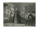 The Lady's Tailor, King Henry IV, Second Part Giclee Print by Henry Stacey Marks