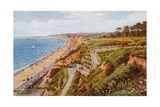 New Zig-Zag West Cliff, Bournemouth Giclee Print by Alfred Robert Quinton