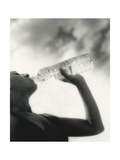 Drinking Mineral Water Giclee Print by  Cristina