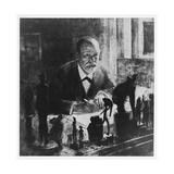 Sigmund Freud, Austrian Psychologist Giclee Print