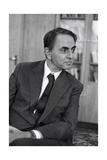 Carl Sagan, US Astronomer Wydruk giclee autor Ria Novosti