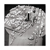 City Model of Sydney, 1969 Giclee Print by National Physical Laboratory
