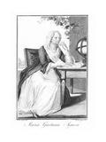 Maria Agnesi, Italian Mathematician Giclee Print