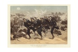 Blue Jackets to the Front Giclee Print by William Heysham Overend