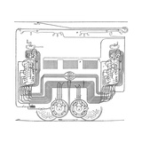 Tram Electrical Systems, 19th Century Giclee Print by Science Photo Library