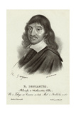 Rene Descartes, French Mathematician Giclee Print