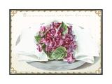 Violets, Christmas Card Giclee Print