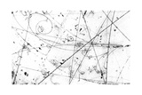 Neutrino Particle Interaction Event Giclee Print by Fermi National Accelerator