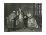 Queen Elizabeth and the Duke of York, King Richard III Giclee Print by Edgar Melville Ward