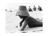 Woman Sunbathing Giclee Print by  Cristina