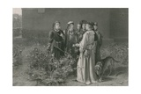 The Scene in the Temple Garden, King Henry Vi, First Part Giclee Print by John Pettie