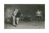 Prince Henry, Points, and Falstaff, King Henry IV, First Part Giclee Print by Sir William Quiller Orchardson