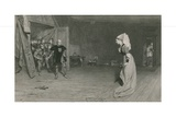 Talbot and the Countess of Auvergne, King Henry Vi, First Part Giclee Print by Sir William Quiller Orchardson