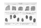 Fingerprints, Historical Image Giclee Print by Middle Temple Library