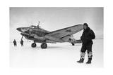 Soviet Pe-2 Bomber And Pilot, 1944 Giclee Print by Ria Novosti