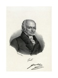 Franz Gall, German Physiologist Giclee Print by Miriam and Ira Wallach
