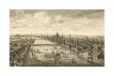 London And the Thames, 18th Century Giclee Print by Miriam and Ira Wallach