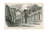 Fountains Abbey, the Choir Giclee Print by Alexander Francis Lydon