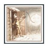 The Compliments of the Season - Christmas Card Giclee Print
