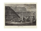 Sermon at the Colosseum Giclee Print by  Gerlier