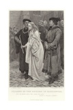 Penance of the Duchess of Gloucester, Henry Vi, Pt 2, Act 2, Scene 4 Giclee Print by Charles Green